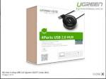 Bộ chia 4 cổng USB 2.0 Ugreen 20277 (màu đen)